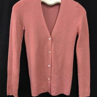 PRADA Luxury Designer Cashmere Silk Blend Cardigan