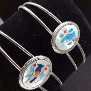 Pair Mosaic Bracelets