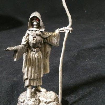 BOB OLLEY 1995 Metal Grim Reaper Figurine