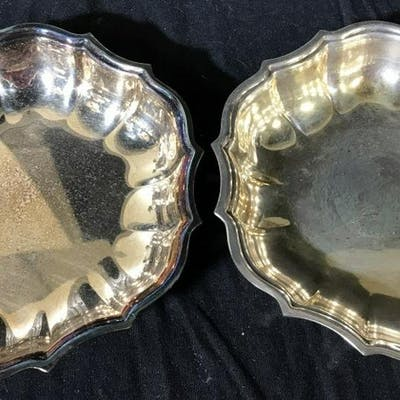 Lot 4 Vintage Silver Plated Tableware