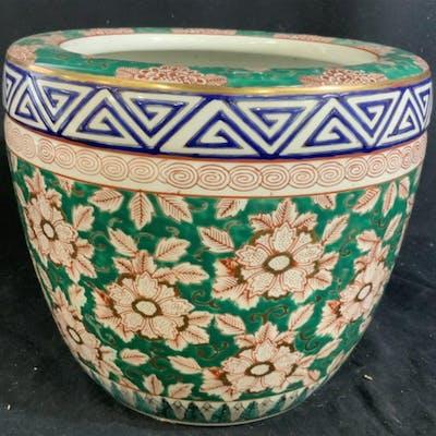 ARITA YAKI Signed Japanese Porcelain Planter