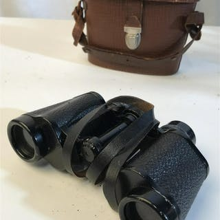 Vintage binoculars with case Vintage binoculars with
