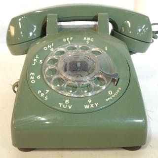WESTERN ELECTRIC Rotary Dial Telephone