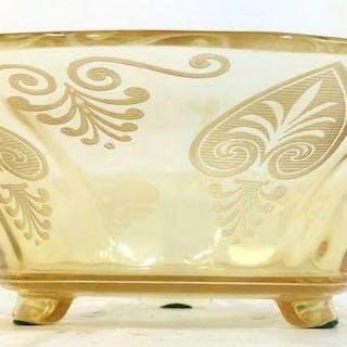 Cut Glass Centerpiece Bowl