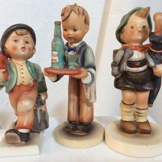 Lot 3 Collectible Goebel Hummel Figurines