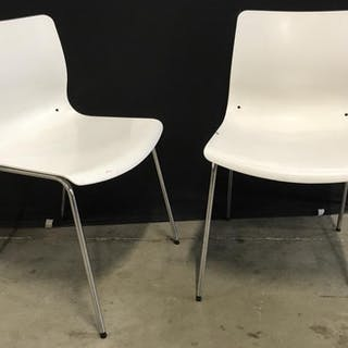 Pair of Contemporary IKEA Erland Chairs