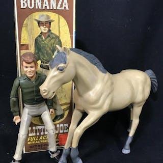 LITTLE JOE of BONANZA Action Figure W Horse