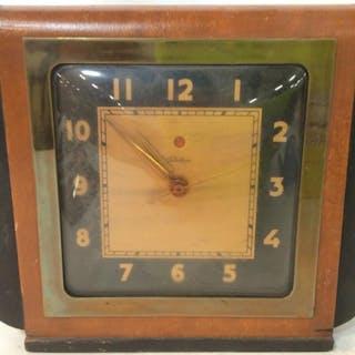 Vintage Wooden TELECHRON Clock