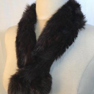 Luxury Vintage Rabbit Fur Scarf