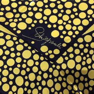 ELSA SCHIAPARELLI COUTURE Polka Dot Silk Scarf