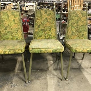 Set 3 DIXIE DINETTES INC Chairs