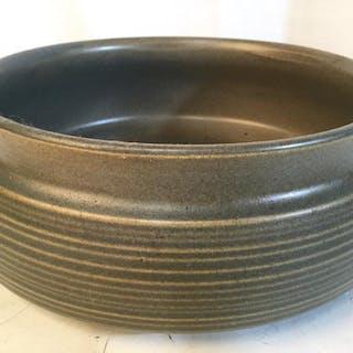 Scandinavian Studio Art Pottery MCM Ceramic Bowl