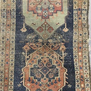 Antique Handmade Wool Carpet
