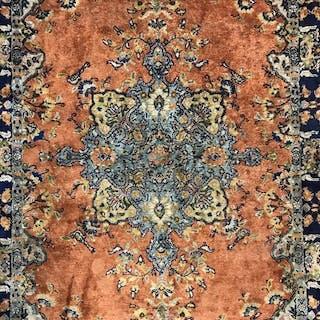 Vintage Oriental Silk Carpet