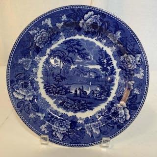 Antique Wedgwood Blue White Porcelain