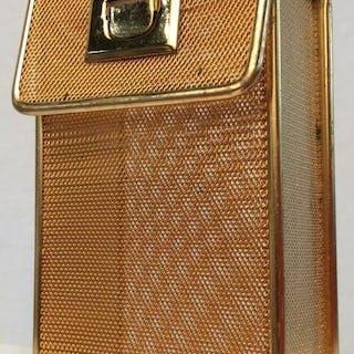Vintage Micro Woven Mesh Metal Cigarette Case
