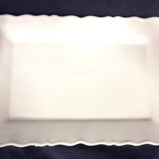 Sand Toned Porcelain Platter