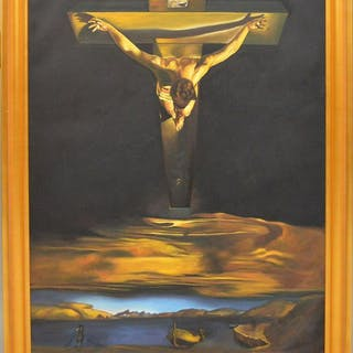 20th Century Painting After Salvador Dali, oil on