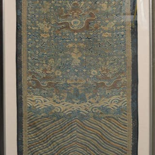 18th Century Chia Ching Dynasty, Ko'Tsu Silk Weaving