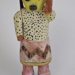 American Hopi Kachina doll, polychrome paint with