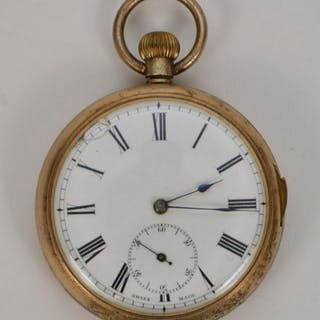 Gold Plated Brevet Repeater Pocket Watch. Condition