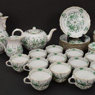 Meissen 30 piece tea service, incl;  teapot, coffee