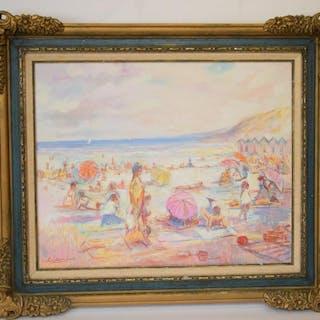 Barry Leighton Jones  (British 1932 - 2011) oil on