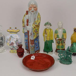 13 Assorted Chinese Articles.  Chinese Porcelain
