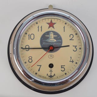 Russian submarine clock