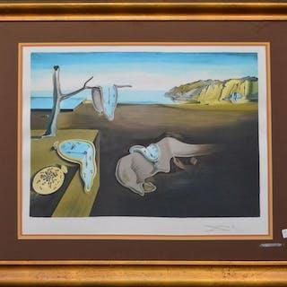 SALVADOR DALI  (Spanish, 1904-1989) color Lithograph