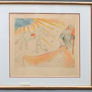 SALVADOR DALI  (Spanish 1904-1989) Etching with