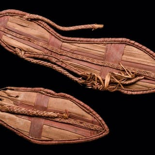 Ancient Egyptian 18th Dynasty Sandals c.1390-1352 BC.