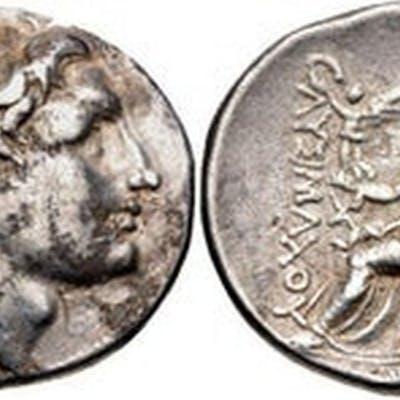 Ancient Greek KINGS of THRACE, Macedonian. Lysimachos.