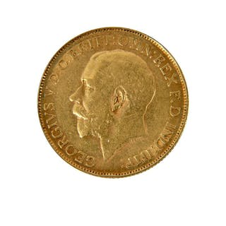 South Africa Georges V 1910 - 1936 1/2 Sovereign 1926