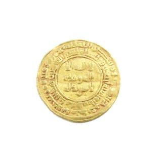 Islamic gold coin, Samanid. Nuh II b. Nasr, AH