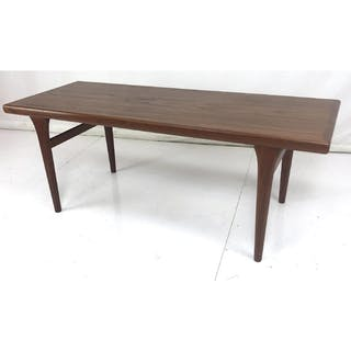 Side Table Wit.Danish Modern Teak Coffee Table Tapered Legs Wit Current