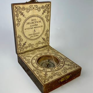 Old French Traveling Compass