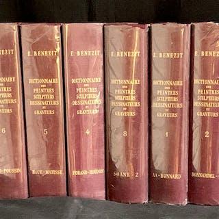 8 Vol Complete Set E. Benezit Art Reference Books