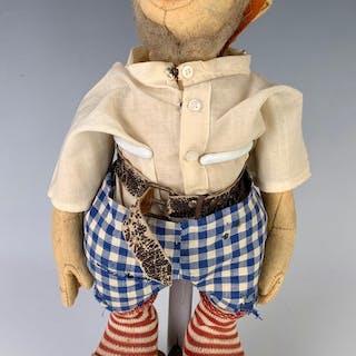 "12"" German Felt Gnome ""Snik"" by Steiff"