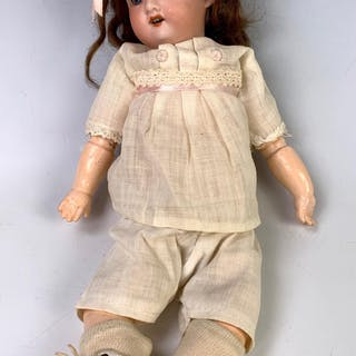 "11.5"" German 390 Bisque Head Child by A.M."