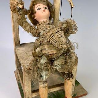 "Acrobat Automaton ""Flipping Boy"" c. 1890"