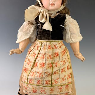 "21.5"" French Bisque Bebe By Jumeau C. 1885"