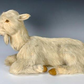 """Antique Nodding """"Goat"""" Automaton C. 1900"""