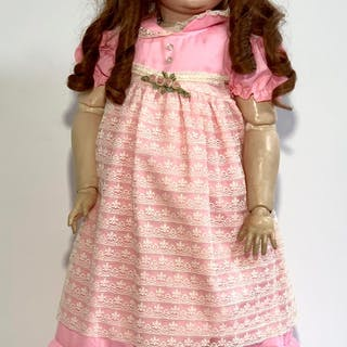 "29"" German Child Doll by Kestner"