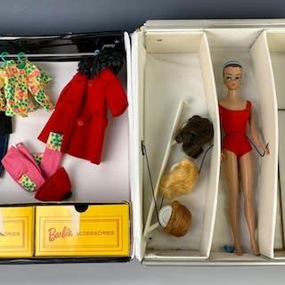 """""""Barbie"""" in Case by Mattel"""