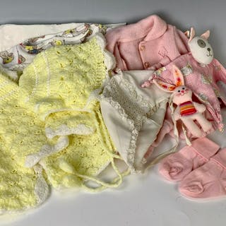 Lot of Human Infant Items