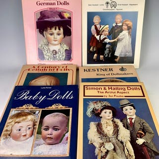 Group of 6 Doll Reference Books