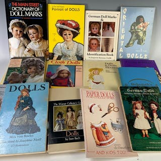 Group of Doll Reference Books