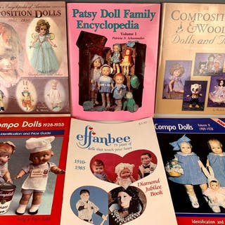 6 Doll Reference Books