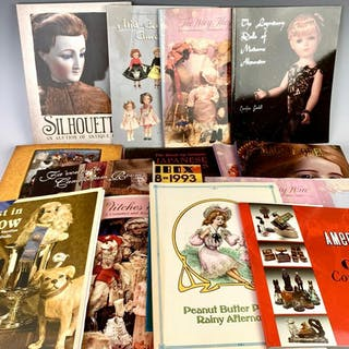 18 Doll and Collectibles Books